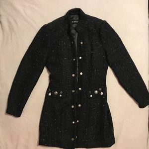 SaoPaulo Long Black Coat